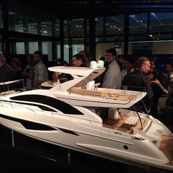 Intermarine lança barco de 80 pés