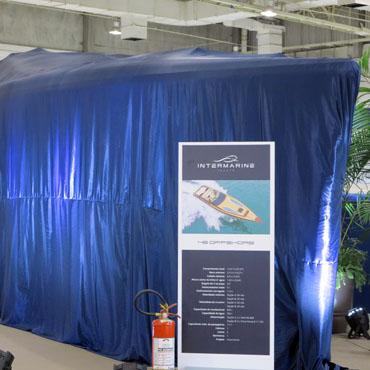 Intermarine mantém segredo sobre a lancha Offshore 48