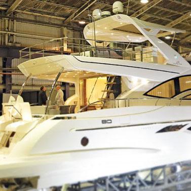 Intermarine apresenta seu mais novo iate de 80 pés no São Paulo Boat Show 2015