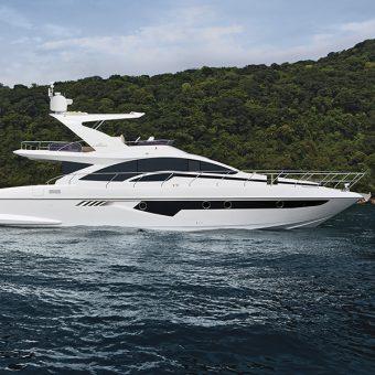 Intermarine realiza pré-lançamento de novo barco